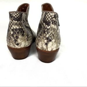 Sam Edelman Shoes - Sam Edelman | Snakeskin Leather Petty Ankle Boots